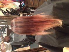 Dramatic ombré. Hair by Megan Farmer.