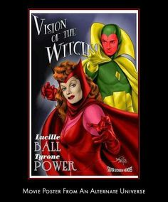 Vision & Scarlet Witch