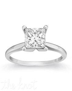 Gemesis Gemesis Noble Princess Engagement Ring