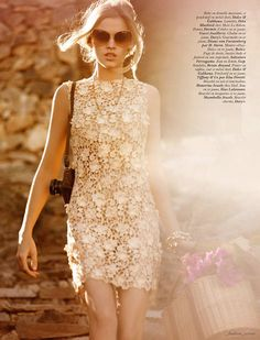 VOGUE PARIS MARCH 2012. The charm of the lace just never ends...