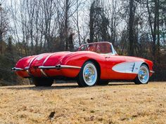 1958 Chevrolet Corvette | Convertible Sports Car | Amazing Classic Cars