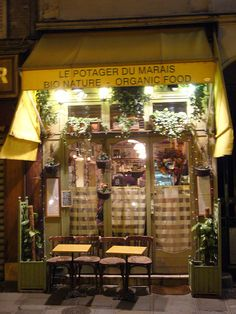 Le potager du Marais - French Vegetarian / Vegan / Organic Restaurant