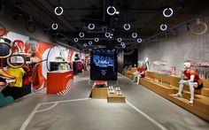Li-Ning store by Ziba, Beijing, Tianjin – China » Retail Design Blog