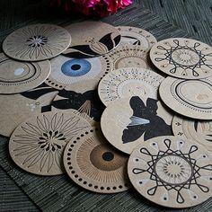 Print & Ink: Handmade Coasters & Cards, Oh My!