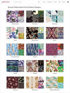 Ethnic Geo AW1718 - Hand Curated Seasonal Trend Theme on the Patternbank Studio