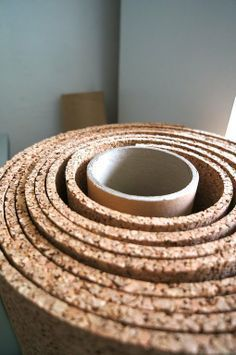 Renters Solutions: Temporary Cork Floors on a Tiny Budget