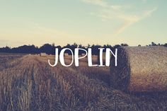 Check out Joplin by OnTheSpotStudio on Creative Market
