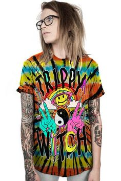 TRIPPY WITCH - CUSTOM UNISEX TIE DYE