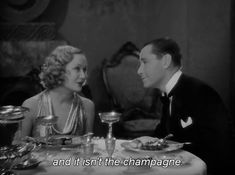Miriam Hopkins and Herbert Marshall in Trouble in Paradise  (Ernst Lubitsch, 1932)