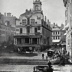 The Old State House, 1860...already 100 years old.