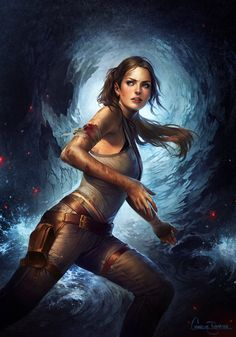Tomb Raider by Charlie Bowater