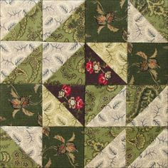 Grandmothers Choice: Votes For Women Block Ladies Wreath: Mourning for… Quilt Block Patterns, Pattern Blocks, Quilt Blocks, Quilting Projects, Sewing Projects, Sewing Ideas, Civil War Quilts, Square Quilt, Hexagon Quilt