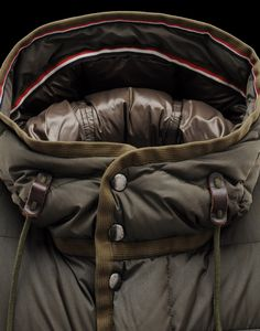 Even on the slopes...  Moncler Loir Down Jacket