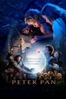 Peter Pan (2003) – The Darling family children receive a visit from Peter Pan, who takes them to Never Never Land where an ongoing war with the evil Pirate Captain Hook is taking place.
