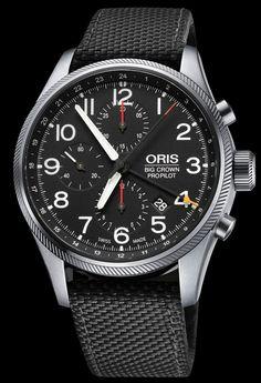 Oris Big Crown ProPilot Chronograph GMT – Стильный и функциональный хронограф Орис