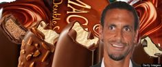 """Unilever have cheekily tapped into the Rio Ferdinand / Ashley Cole """"choc ice"""" scandal."""