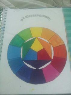 Teken opdracht kleurencirkel