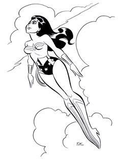 Wonder Woman by Bruce Timm