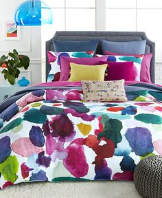 bluebellgray Abstract Full/Queen Duvet Set - Bedding Collections - Bed & Bath - Macy's