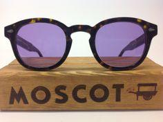 Moscot Lemtosh tartarugato con lenti viola chiaro