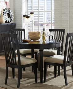 Captiva Round Dining Room Furniture Collection, from Macy's, 599.00