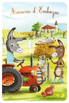 Embazac farm - postcard 10x15cm