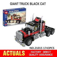 114.00$  Watch more here - http://aiy04.worlditems.win/all/product.php?id=32742312598 - NEW Lepin 21015 1743Pcs The giant American container car Educational Building Blcoks Bricks Toys Gift Compatible with 5571