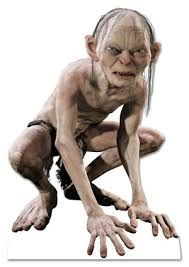 Gollum angry, wütend