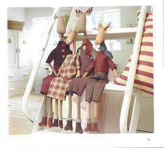 Тильда лось: выкройка мягкой игрушки для шитья skinny reindeer