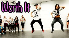 Watch from 1.03, those little ones are freakin' awesome. WORTH IT - Fifth Harmony ft Kid Ink Dance | @MattSteffanina Choreography (Beg/Int Class)