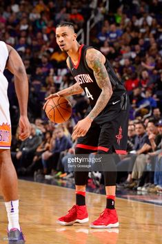 0e95c9e22979 News Photo   Gerald Green of the Houston Rockets handles the... Gerald Green