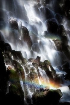 A Beautiful place on the Earth - not sure, but found another pic almost identical to this one.  May be Ramona Falls, Oregon???
