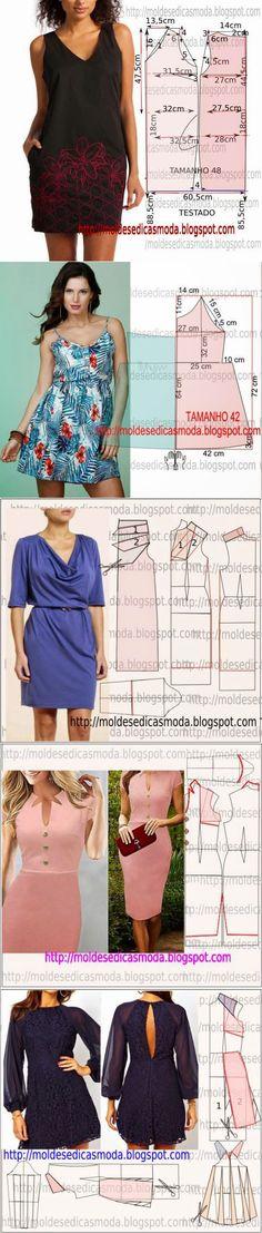 >Платье+выкройка .(15 часть) | Шитье | Постила