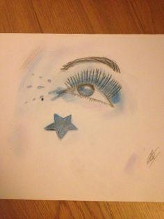 Blue eye..