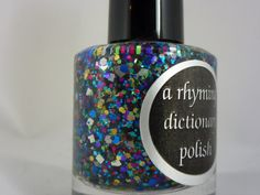 Polychrome Nail Polish by Arhymingdictionary on Etsy, $7.50