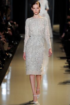 Elie Saab Spring 2013 Couture Fashion Show - Vanessa Axente (Viva)
