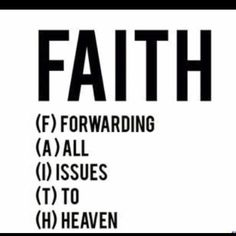 FAITH quote. Christianity.
