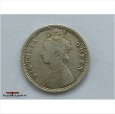 1862 1/4 silver rupee Indian coin (rare) on eBid United Kingdom