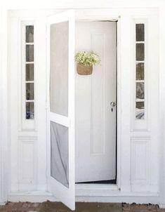 Screen door.