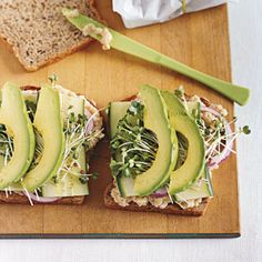 Smashed white bean and avocado club sandwich - thinking a couple of slices of bacon would be yummy too!