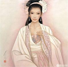 FENG CHANG JIANG | AMARNA IMAGENS: PINTURAS DE FENG CHANG JIANG - artista chinês