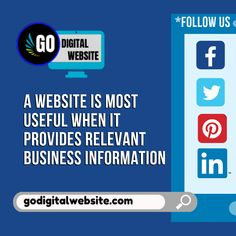 A website is most useful when it provides relevant business information Advertising Channels, Advertising Strategies, Online Advertising, Marketing Budget, Marketing Plan, Internet Marketing, Social Media Marketing, Advertise Your Business, Online Business