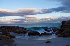 Abendstimmung - Bay of Fires - Tasmanien