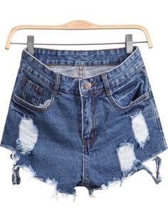 Shorts Denim-azul 13.80