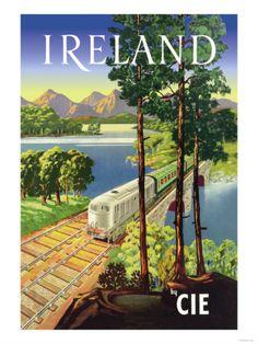 Vintage Travel Poster - Ireland - Railway www.SELLaBIZ.gr ΠΩΛΗΣΕΙΣ ΕΠΙΧΕΙΡΗΣΕΩΝ ΔΩΡΕΑΝ ΑΓΓΕΛΙΕΣ ΠΩΛΗΣΗΣ ΕΠΙΧΕΙΡΗΣΗΣ BUSINESS FOR SALE FREE OF CHARGE PUBLICATION