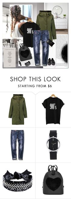 """""""I have no regrets"""" by undici ❤ liked on Polyvore featuring Oris, rag & bone, Lodis and Superga"""