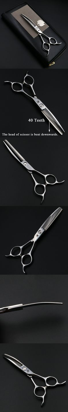 6 inch Thinning Scissors Professional Hairdressing 40 Teeth Scissors Barber Salon shears High quality Personality