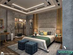 Modern Contemporary Bedroom in Cairo on Behance Bedroom Furniture Design, Bedroom False Ceiling Design, House Ceiling Design, Luxurious Bedrooms, Stylish Bedroom Design, Modern Bedroom, Modern Luxury Bedroom, Luxury Bedroom Master