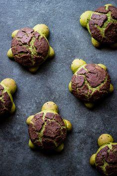 MATCHA MILK BREAD TURTLES - ful-filled
