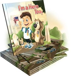 Great deployment book for kids. The site also has some activity pages and a deployment bear and medal will be available soon!